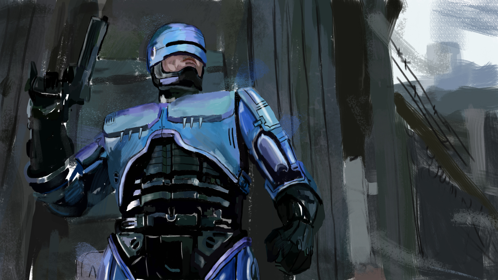 The 90's ROBOCOP