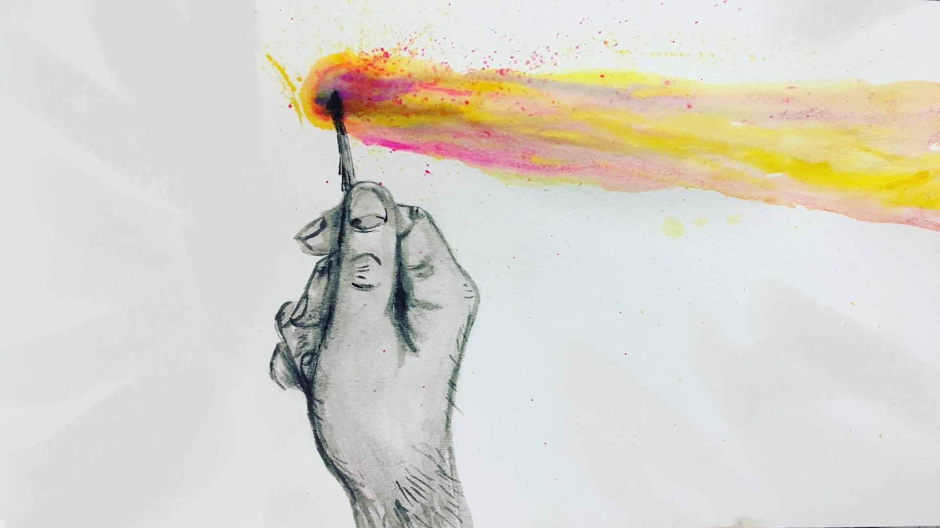 Y el fuego